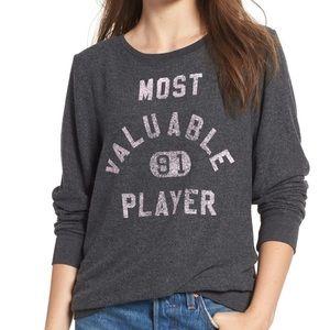 NWT WILDFOX Most Valuable Player Beach Sweatshirt